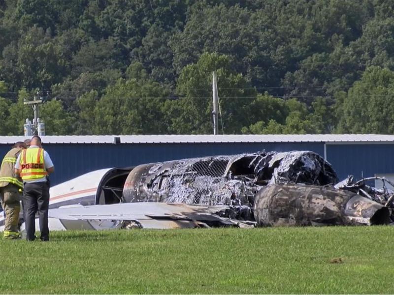 US-Rennfahrer Earnhardt überlebt Jetabsturz