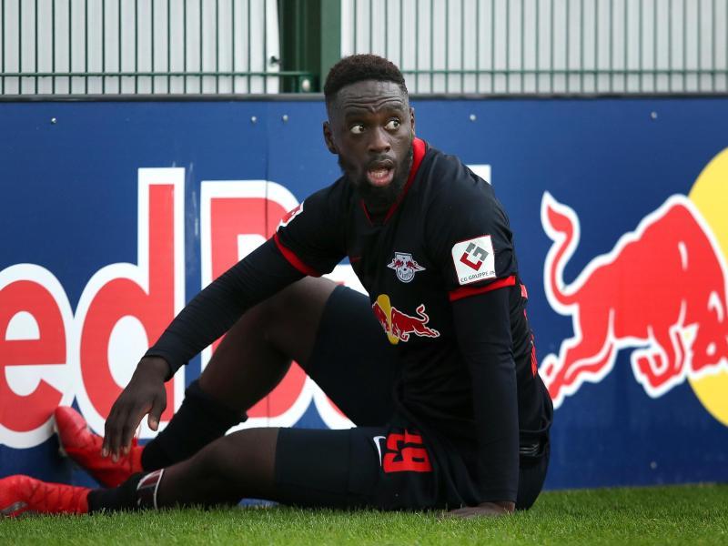 Leipzigs Jean-Kevin Augustin könnte bald zum französischen Erstligisten OGC Nizza wechseln