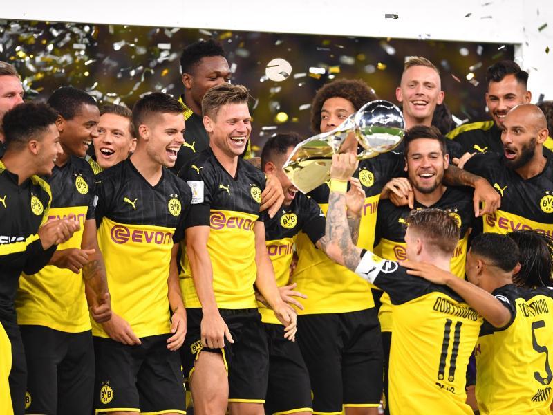 Nach dem Gewinn des Supercups beginnt jetzt auch für Borussia Dortmund die Bundesliga