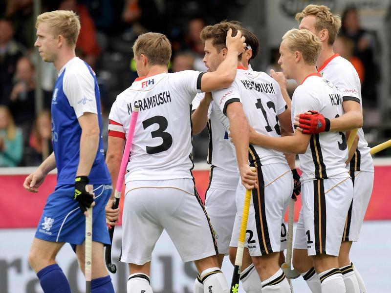 Die deutschen Hockey-Herren zeigten sich in starker Verfassung