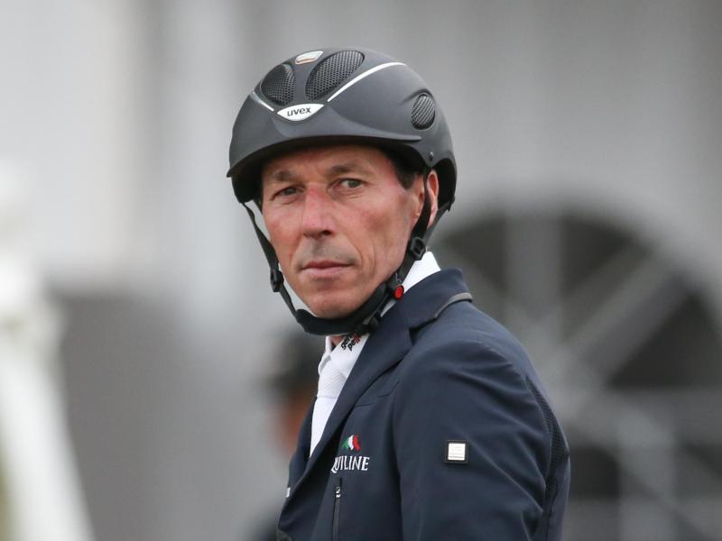 Springreiter Hans-Dieter Dreher musste sich in Donaueschingen mit dem vierten Platz zufrieden geben