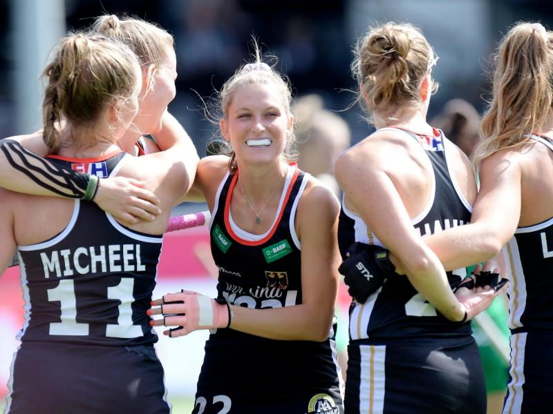 Die deutschen Hockey-Damen stehen bei der EM im Halbfinale