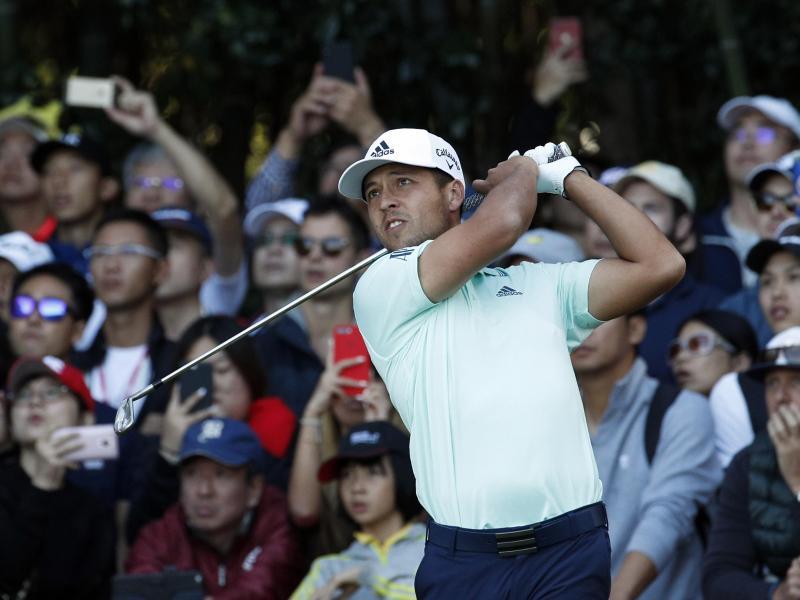 Schlägt beim Golf-Turnier in Winsen an der Luhe ab: US-Star Xander Schauffele