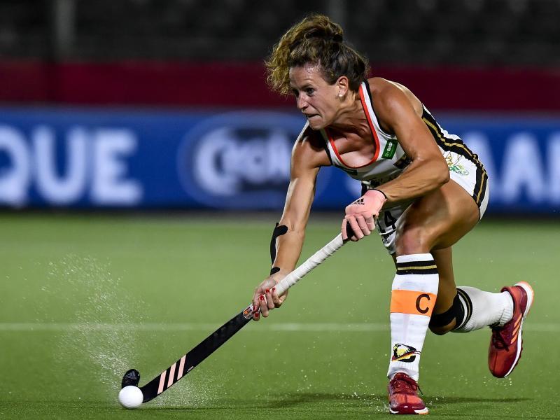 Janne Müller-Wieland ist die Kapitänin der deutschen Hockey-Damen