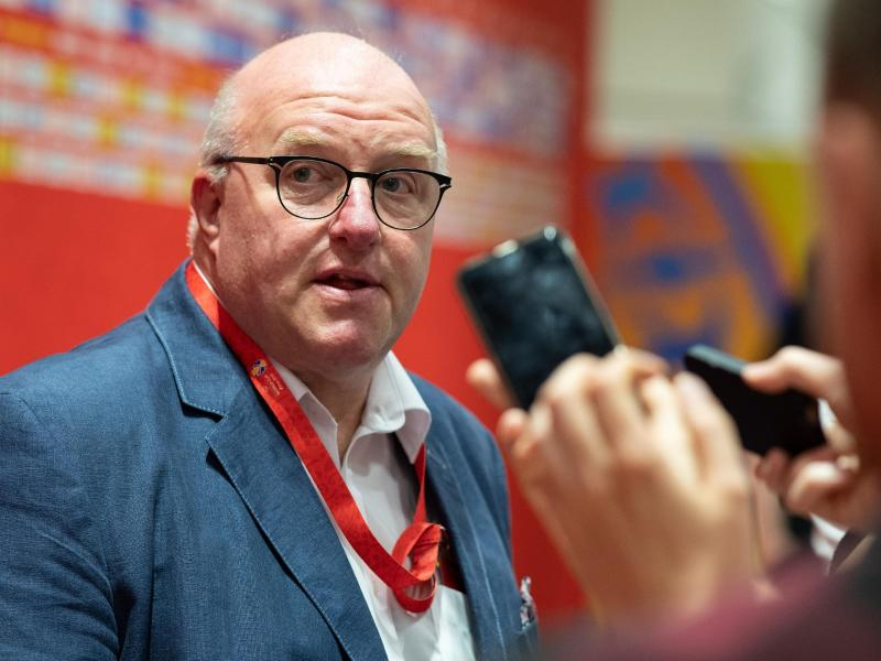 Ingo Weiss, Präsident des Deutschen Basketball Bundes, kritisiert die Berichterstattung