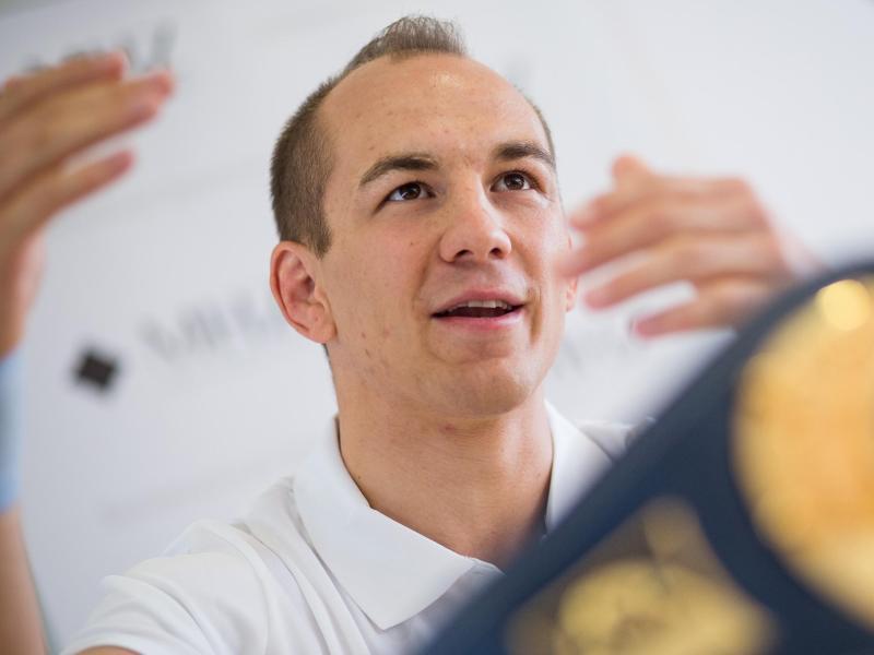 Ringer Frank Stäbler will bei der WM liefern
