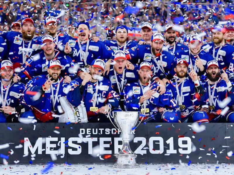 Die Adler Mannheim sind wieder Favorit auf den Gewinn der Meisterschaft