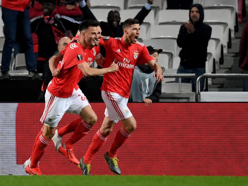 Benfica hat in der heimischen Liga Gil Vicente mit 2:0 besiegt