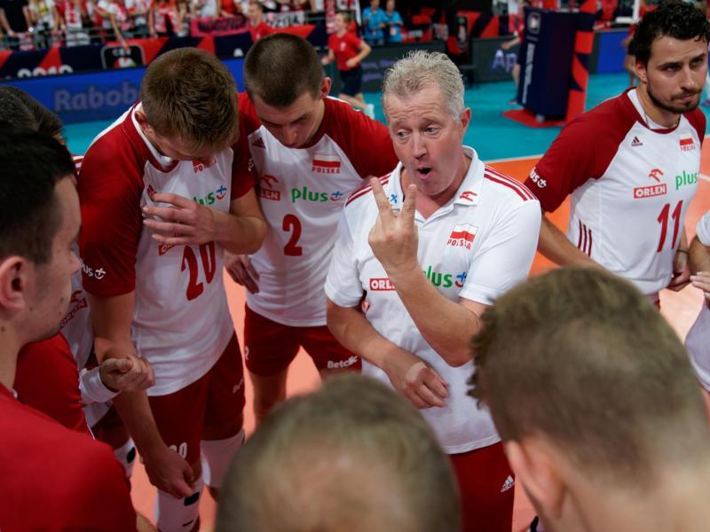 Dürfen mit einem Regierungsflieger zum EM-Halbfinale reisen: Polens Volleyballer