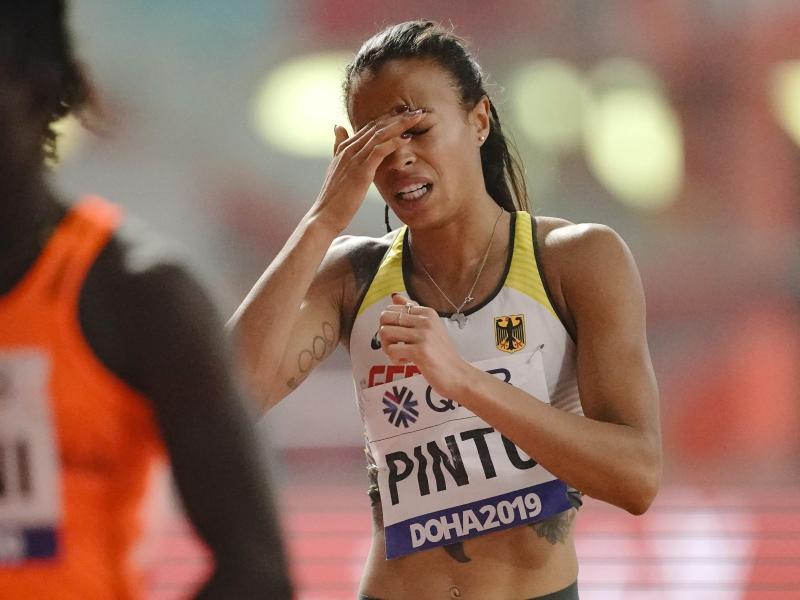 Tatjana Pinto ist über 200 Meter vorzeitig gescheitert