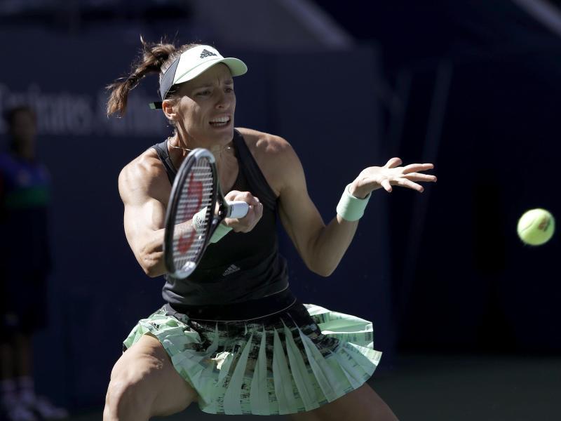 Steht in Linz in Runde zwei: Andrea Petkovic