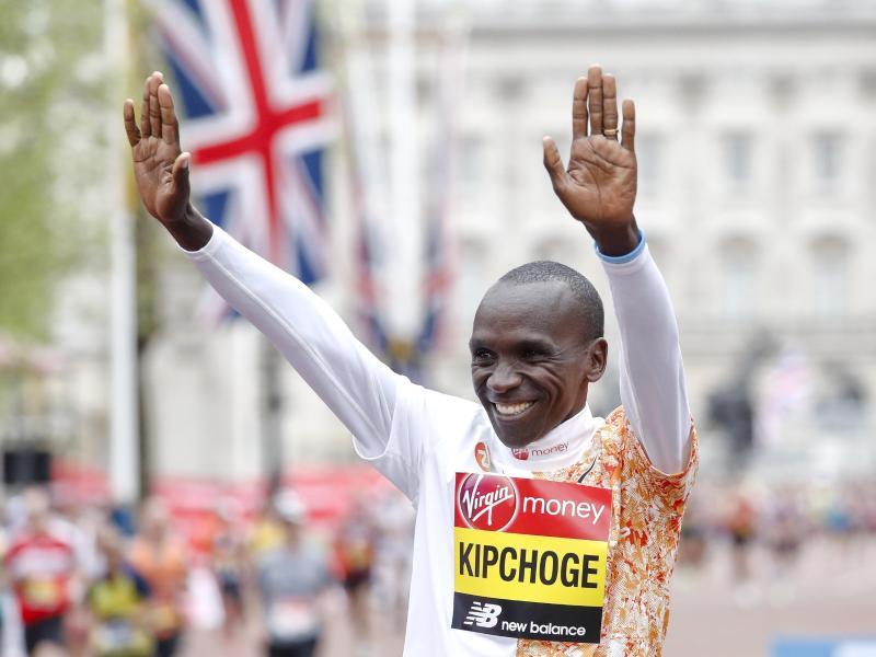 Hält den Weltrekord im Marathon: Eliud Kipchoge