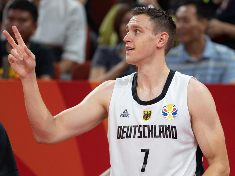 Geht künftig in Russland auf Körbejagd: Basketball-Nationalspieler Johannes Voigtmann