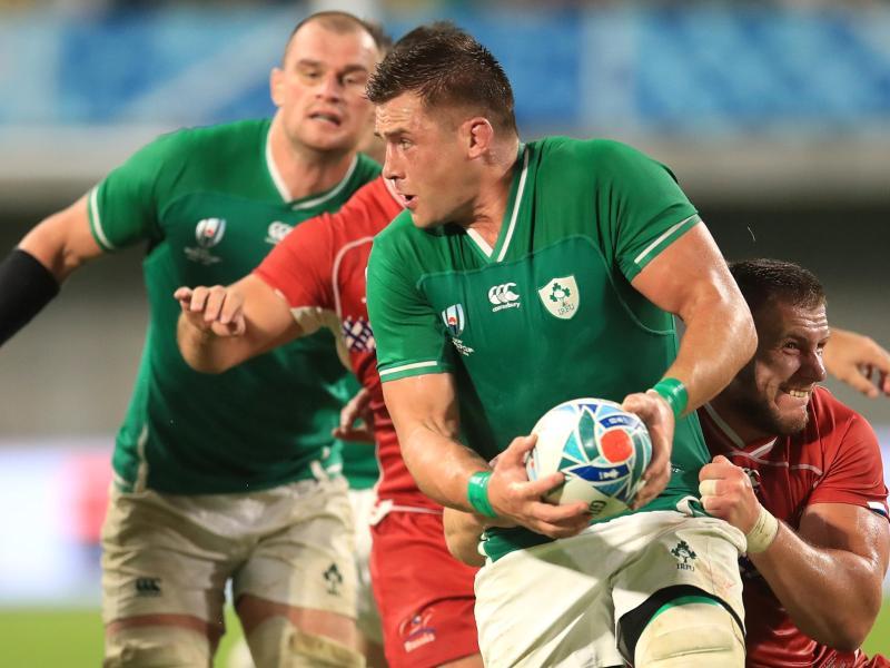 Irland trifft im Viertelfinale der Rugby-WM auf Neuseeland