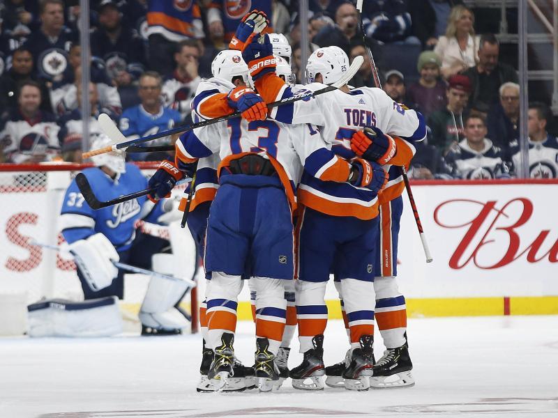 Die New York Islanders setzten sich in Winnipeg durch