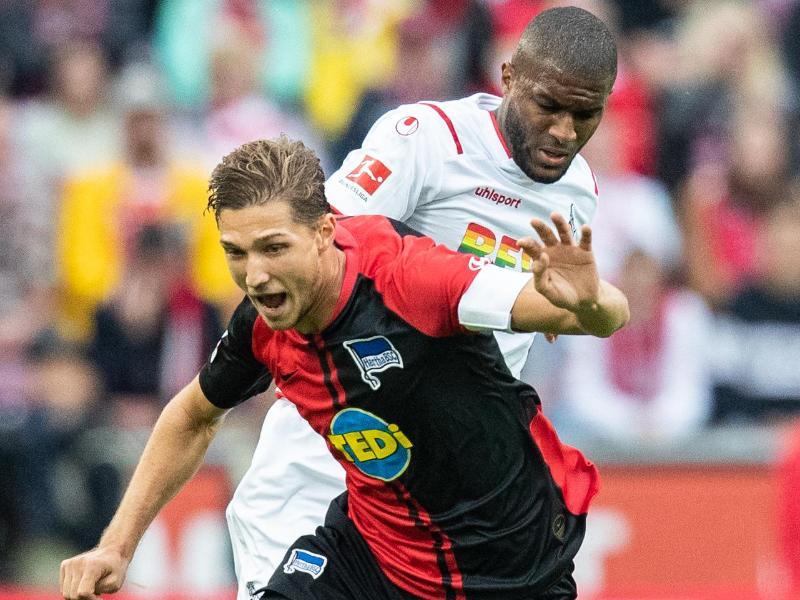 Der Einsatz von Niklas Stark gegen den SV Werder Bremen ist fraglich