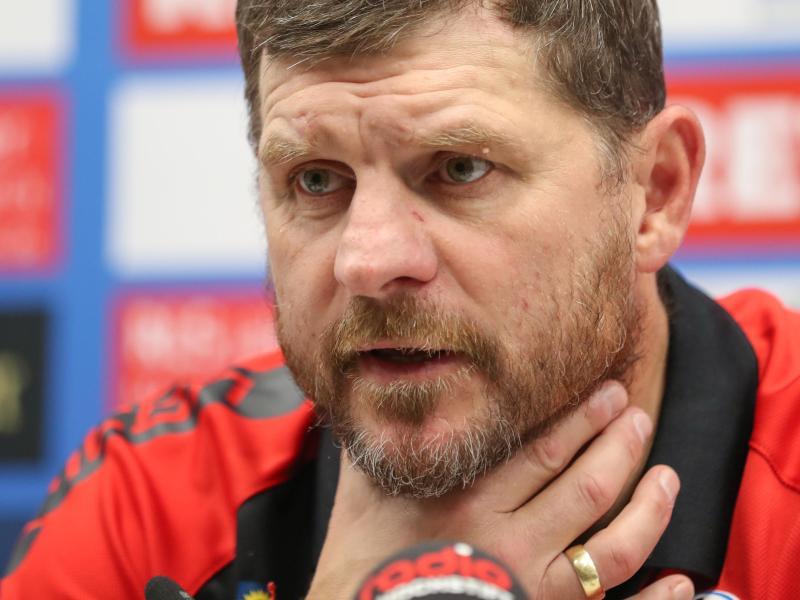 Steffen Baumgart will mutig nach vorne spielen