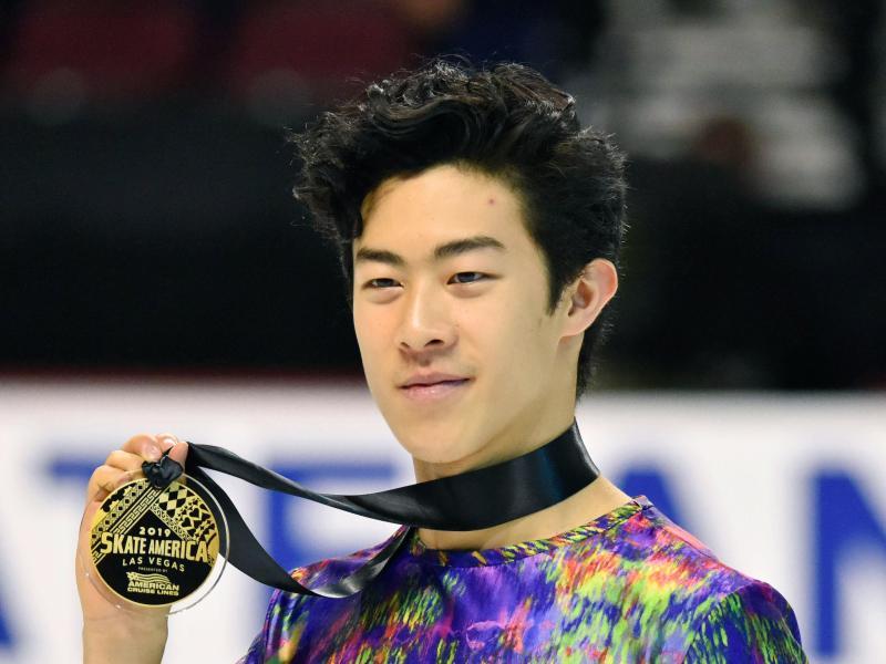 Weltmeister Nathan Chen gewann den Grand Prix in Las Vegas