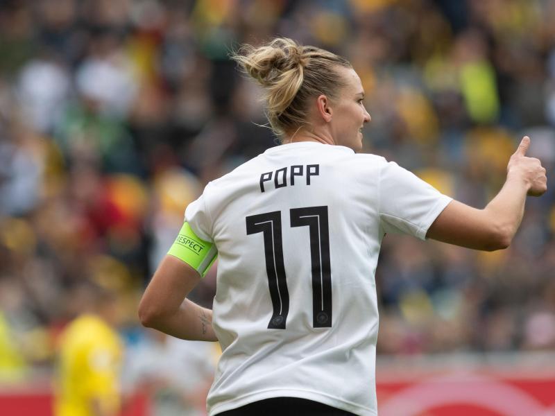 Wird für die deutschen Frauen nicht in Wembley auflaufen: Alexandra Popp
