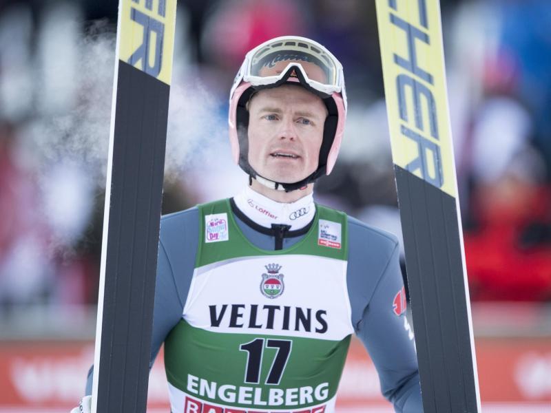Skispringer Severin Freund fehlte lange wegen einer Verletzung