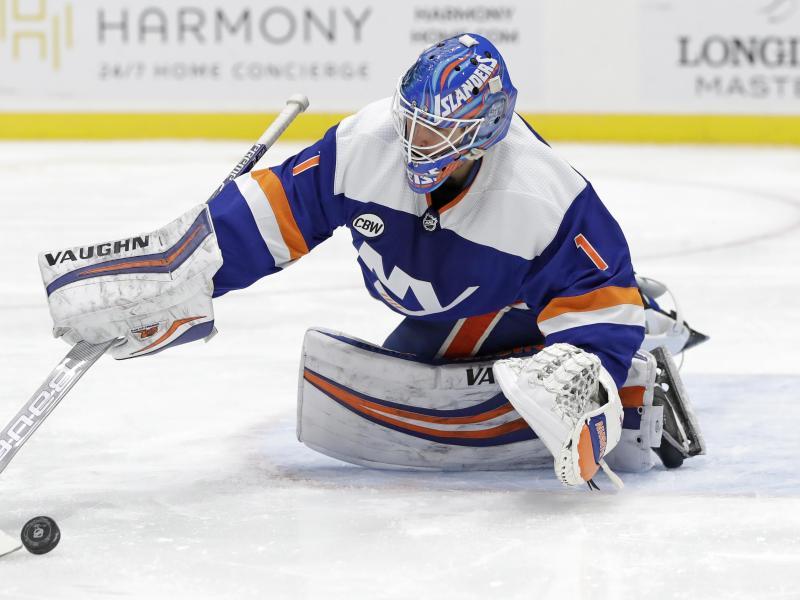 Ist mit den New York Islanders derzeit nicht zu bezwingen: Goalie Thomas Greiss
