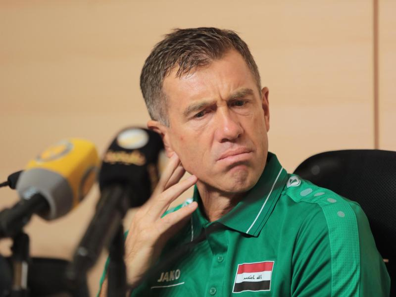 Srecko Katanec, Trainer der irakischen Nationalmannschaft. Foto: -/Saudi Press Agency/dpa/Archivbild