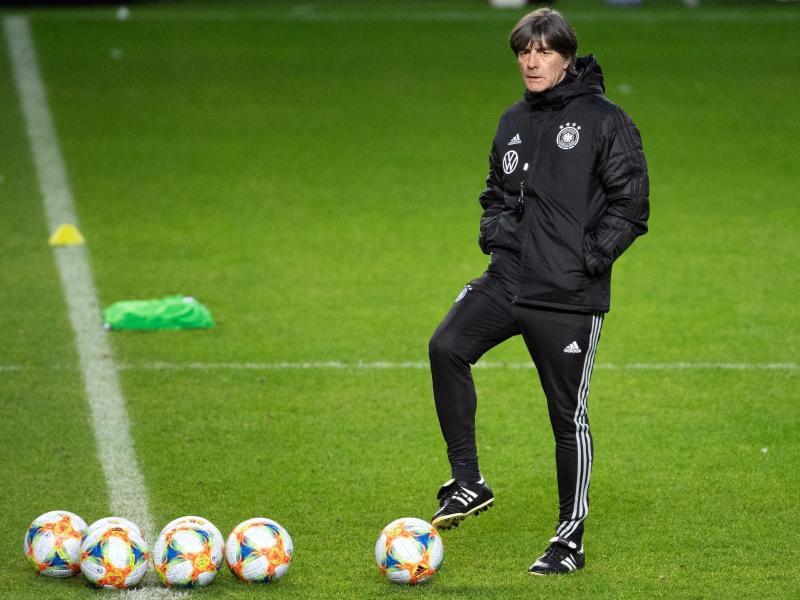 Jogi Löw steht kurz vor der EM-Teilnahme mit der deutschen Nationalmannschaft