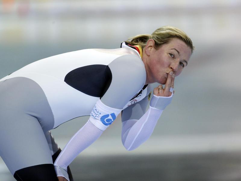 War auch bei der DM in Inzell nicht zu schlagen: Claudia Pechstein