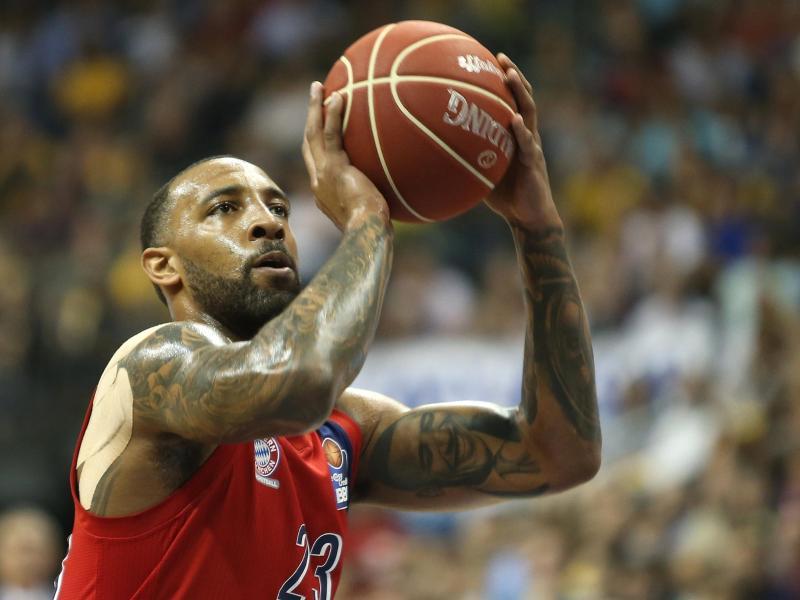 Musste mit den Bayern Basketballern eine Pleite in Istanbul hinnehmen: Derrick Williams