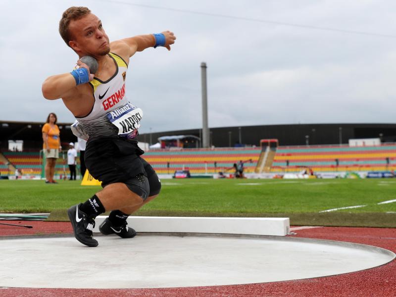 Holte mit Silber im Kugelstoßen die zweite deutsche Medaille bei der Para-WM: Niko Kappel
