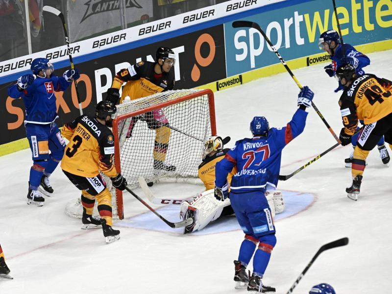 Deutschland unterlag am Sonntag gegen die Slowakei