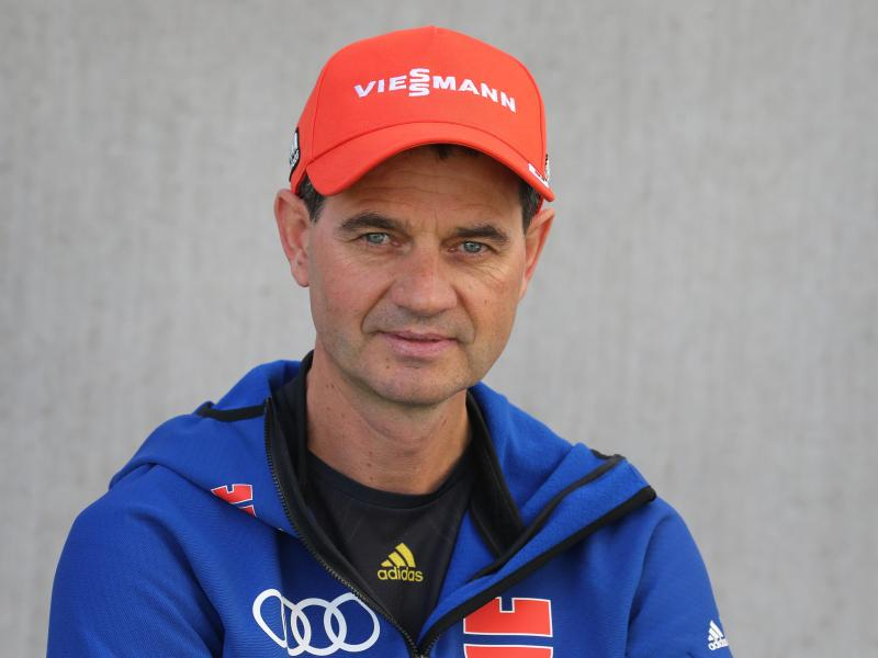 Stefan Horngacher ist der Trainer der deutschen Skispringer