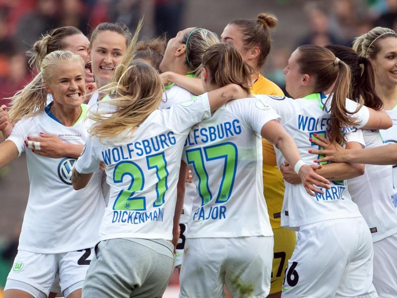 Die Frauen des VfL Wolfsburg haben das Viertelfinale im DFB-Pokal erreicht