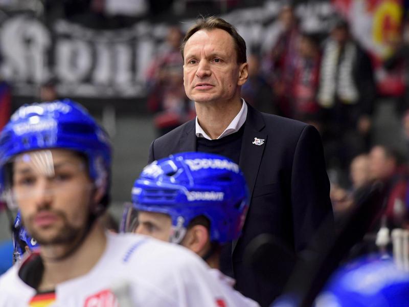 Verpasste mit den Adler Mannheim das Königsklassen-Viertelfinale: Coach Pavel Gross