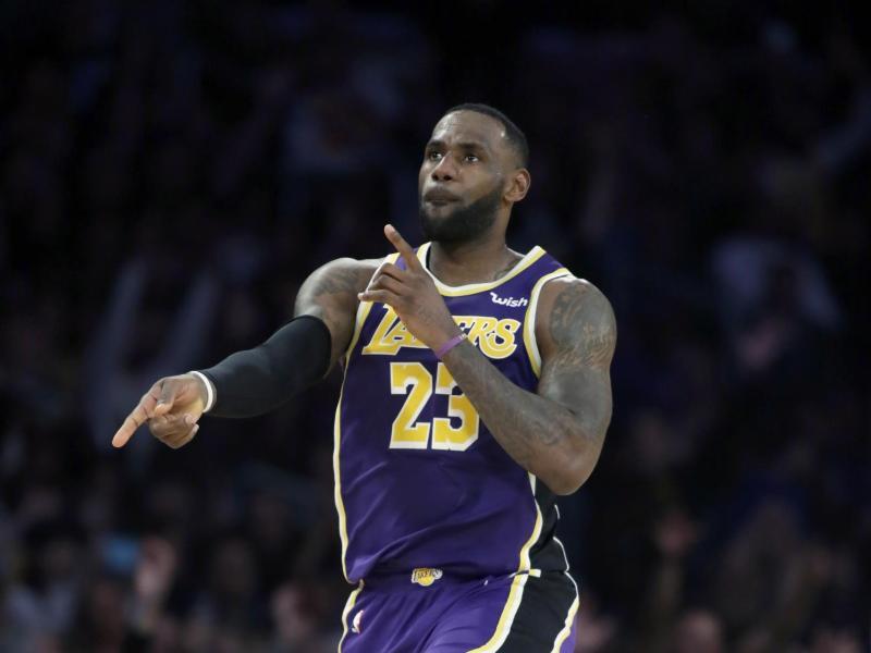 Überragender Akteur beim Lakers-Sieg gegen Memphis: LeBron James.