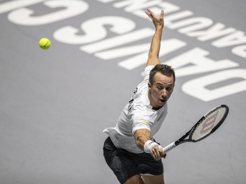 Die deutschen Tennis-Herren um Philipp Kohlschreiber treffen auf Weißrussland