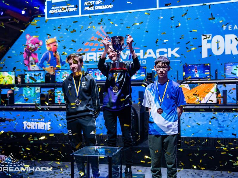 """Der 15-jährige """"Merijn"""" (M.) hat den Fortnite-Wettbewerb der Dreamhack Winter gewonnen"""