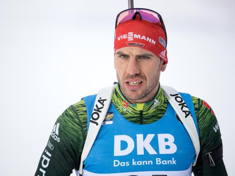 Biathlet Arnd Peiffer ist wieder fit für den Einzelstart im Weltcup