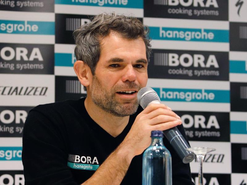 Bora-Teammanager Ralph Denk hat den Kader für 2020 bekanntgegeben