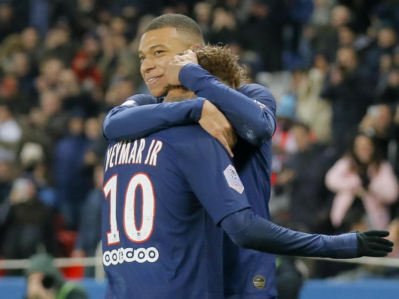 Neymar und Mbappé besorgen den Auswärtssieg für PSG