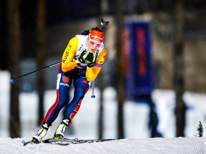 Denise Herrmann lief als 41. wie alle anderen deutschen Starterinnen nichtmals in die Punkteränge