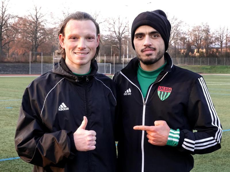 Mehr als nur Teamkollegen: Christian Köppel (l.) und Mohamad Awata (r.)