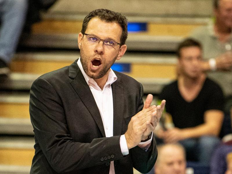 Volleyball-Trainer Cédric Enard verlängerte seinen Vertrag in Berlin