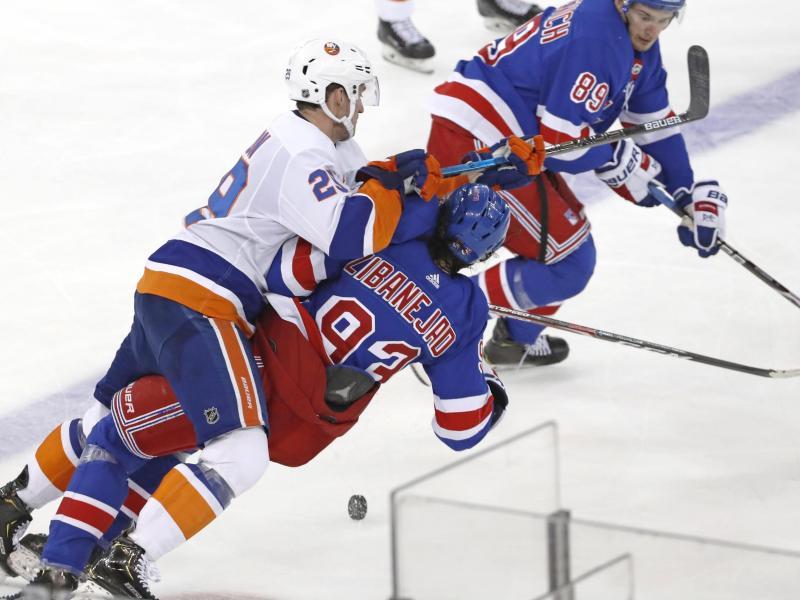 Die New York Rangers haben das Stadtduell gegen die Islanders mit 6:2 gewonnen
