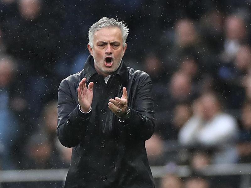 Hat mit Tottenham Hotspur die vierte Runde im FA Cup erreicht:Trainer José Mourinho
