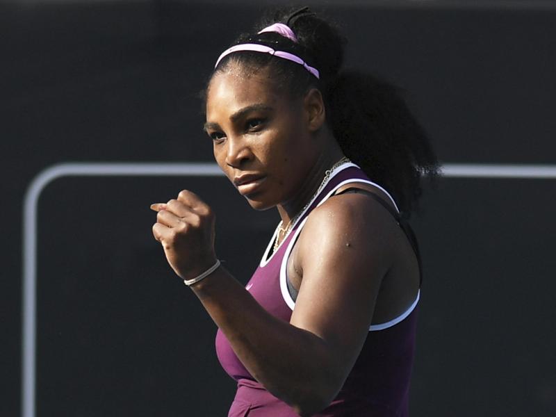 Startet wieder im Fed-Cup für die USA: Serena Williams. Foto: Andrew Cornaga/Photosport/AP/dpa