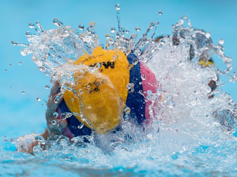 Das deutsche Wasserballteam spielt bei der EM um die Olympia-Teilnahme