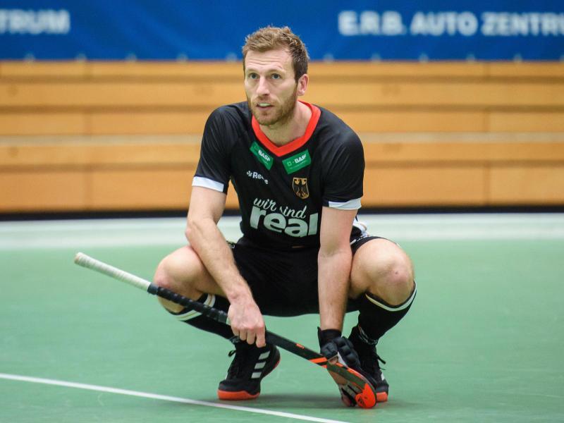 Hat seinen Rücktritt vom Hockey-Nationalteam erklärt: Jan Philip Rabente