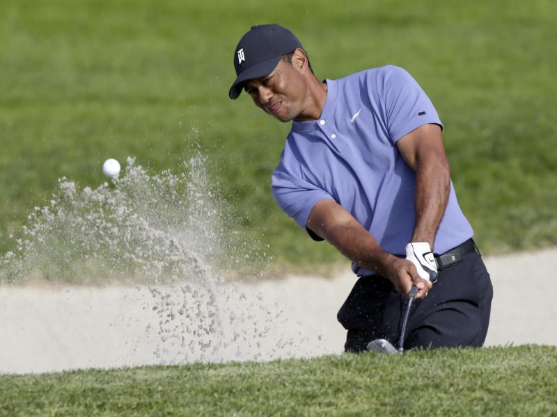 Tiger Woods startete mit einer 69er-Runde in die Farmers Insurance Open