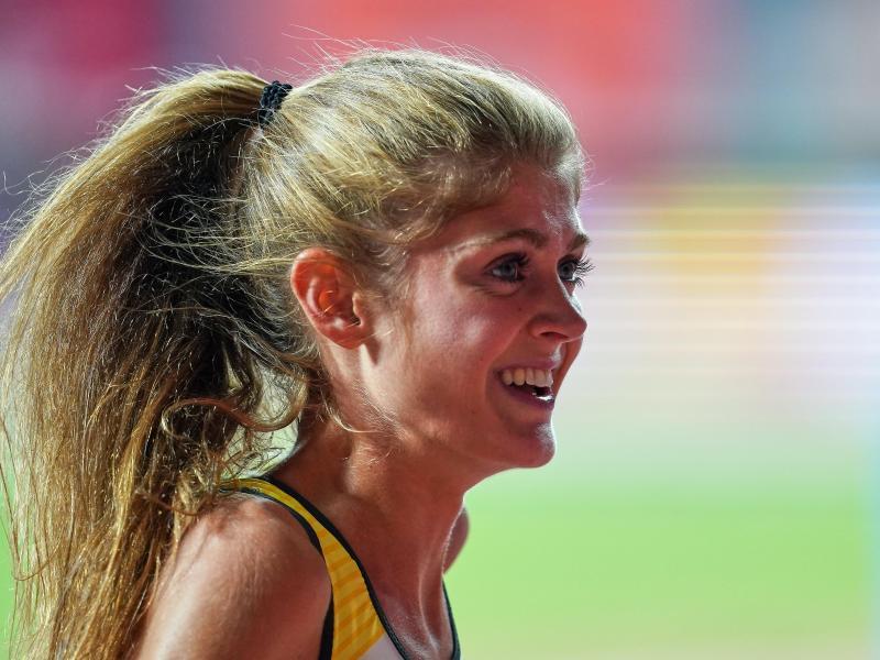 Wurde in Boston Zweite über 1500 Meter